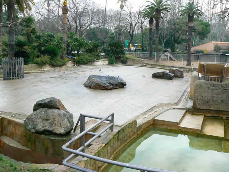 Barcelona Zoo, 2009. (©Foundation FAADA)